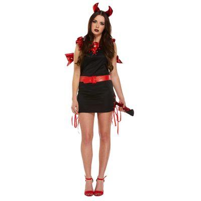 Foto van Sexy devil rood zwart