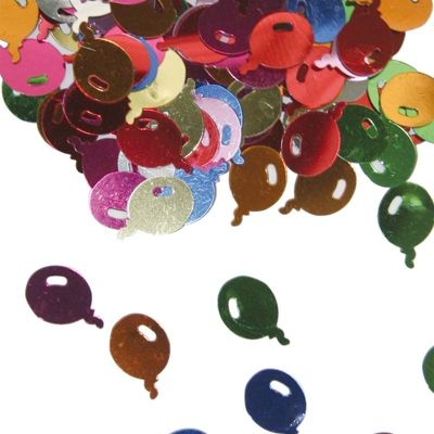 Foto van Tafel Confetti ballonnen