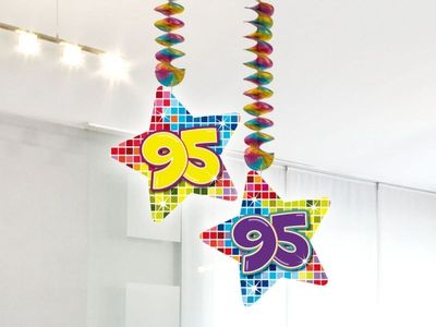 Hangdecoratie Birthday Blocks 95 jaar