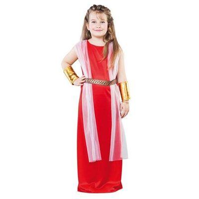 Foto van Romeinse jurk kind