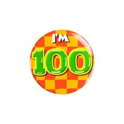 Foto van Button 100 jaar