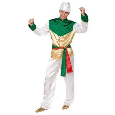 Foto van Bollywood kostuum