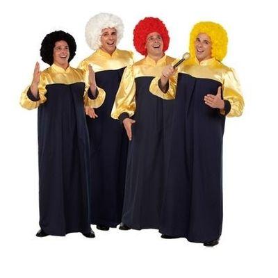 Gospel kostuum volwassenen