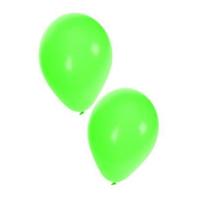 Foto van Ballonnen groen 50 stuks 10inch