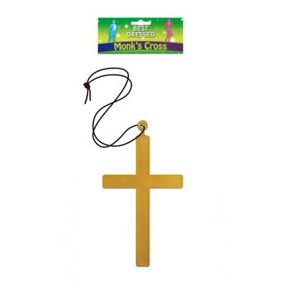 Monnik/priester kruis aan ketting