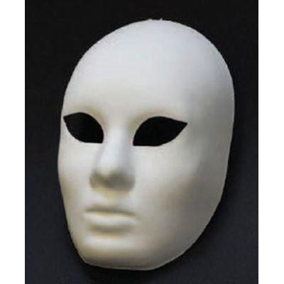 Foto van Venetiaans masker Volto grezzo wit