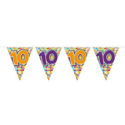 Vlaggenlijn Birthday Blocks 10