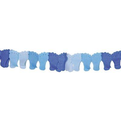 Foto van Papierenslinger voet blauw 6m /1