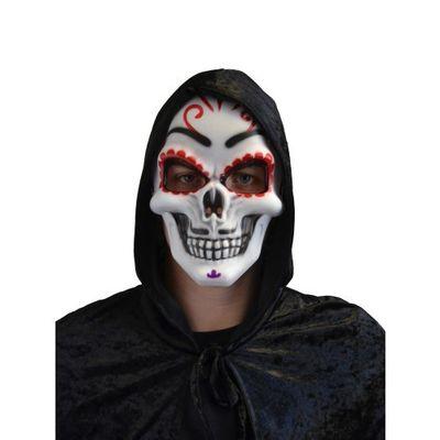 Day of the dead masker hard plastic