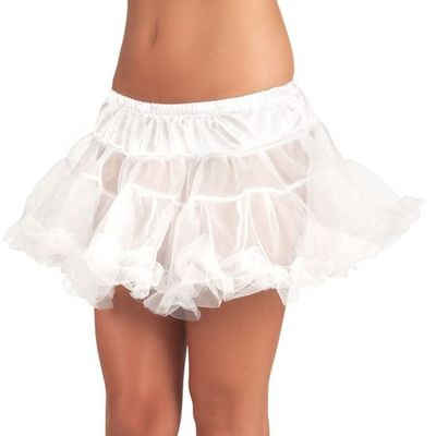 Petticoat wit kort