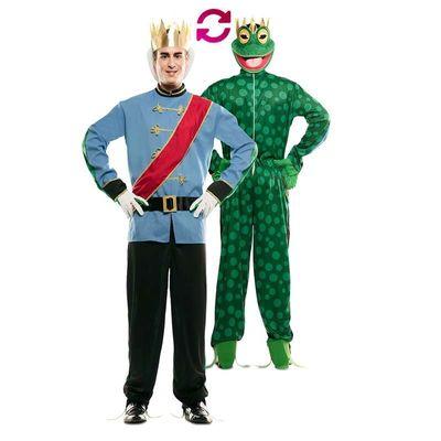 Foto van Double fun! Prins en kikker kostuum