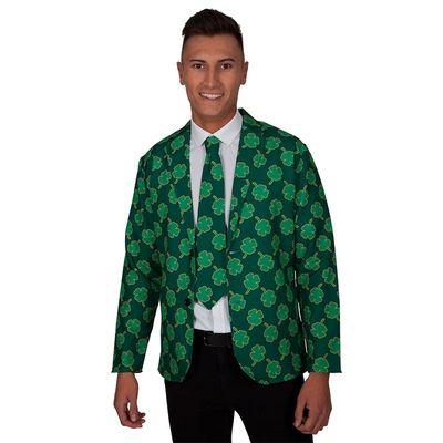 Foto van Colbert met stropdas St. Patrick's day