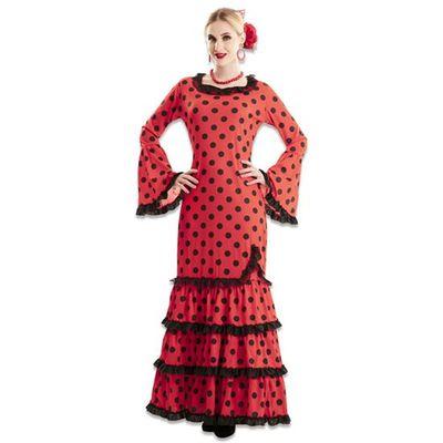 Foto van Flamenco jurk rood