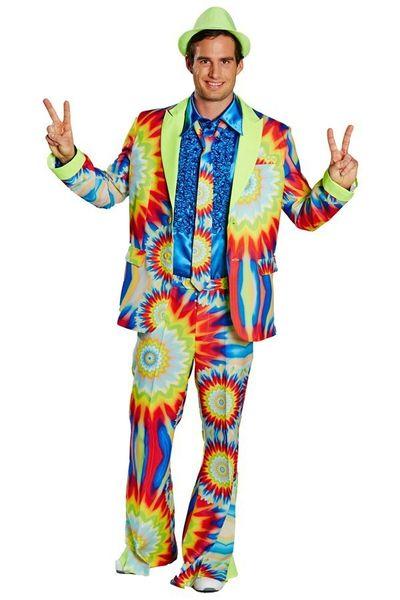 Kostuum Soul Groovy 3-delig heren