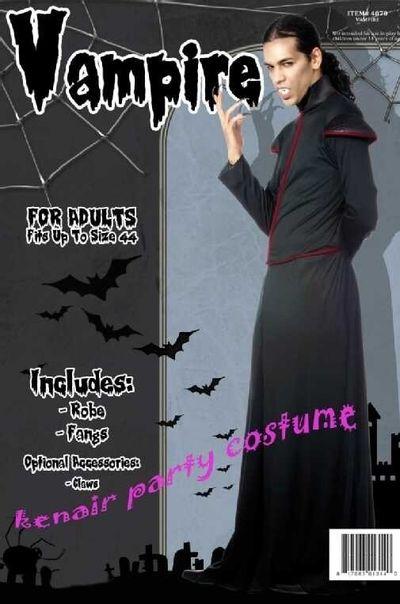 Vampier kostuum Godfried