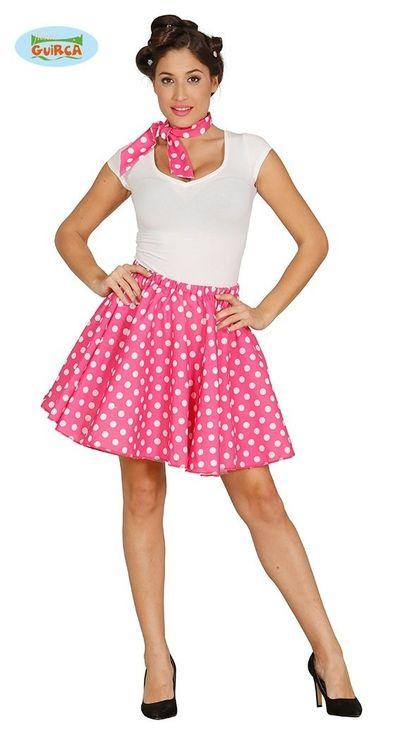Roze polkadot set