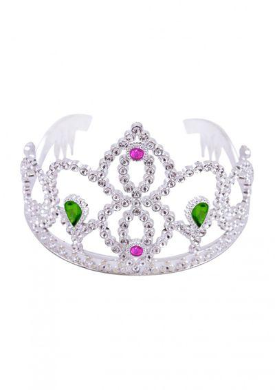 Prinsessenkroon zilver