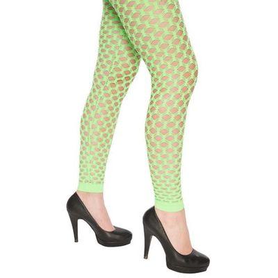 Foto van Neon legging met gaten groen