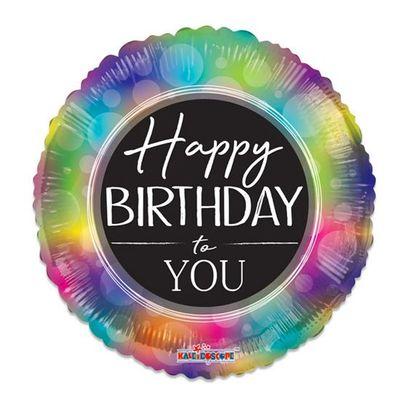 Foto van Folieballon Happy Birthday to You