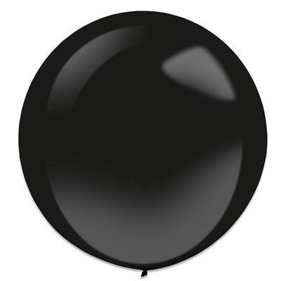 Ballonnen jet black (60cm) 4st