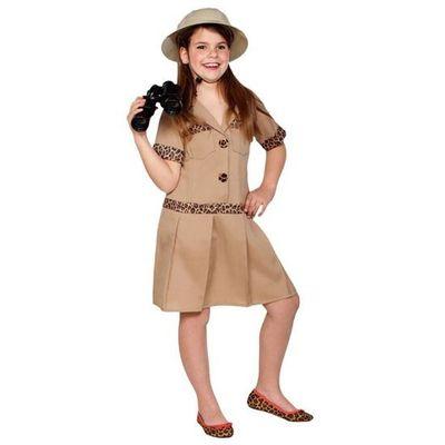 Safari kostuum meisje