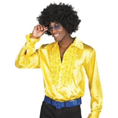 Foto van Disco blouse geel