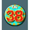 Afbeelding van Button 38 jaar
