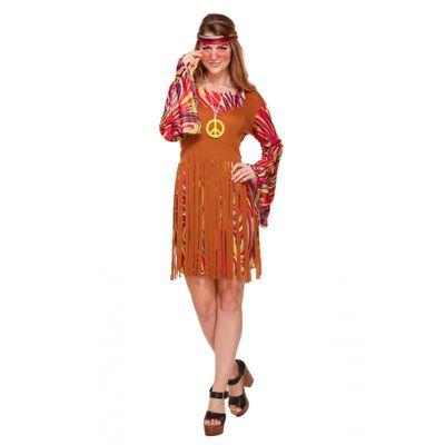 Foto van Hippie jurk met franjes