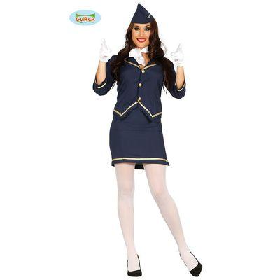 Foto van Stewardess kostuum
