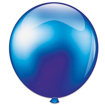 Topballon parel donkerblauw (91cm)