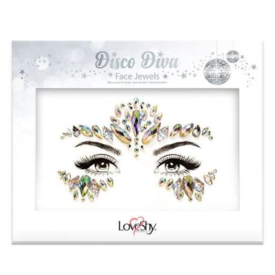 Face jewels disco diva