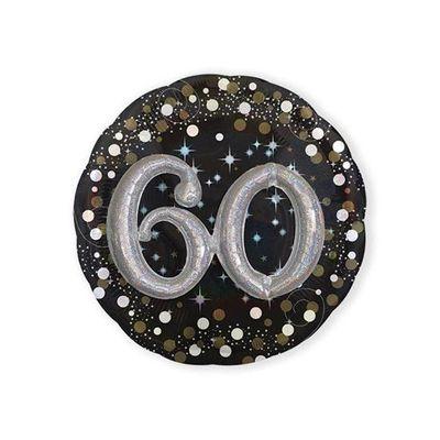 Folieballon 60 Sparkling 3D