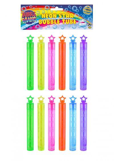 Neon bellenblaas