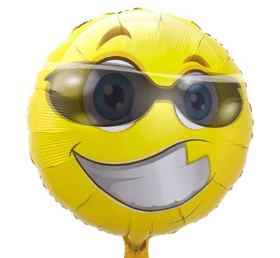 Folieballon Emoticon Fun