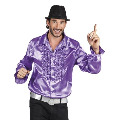 Foto van Disco blouse paars