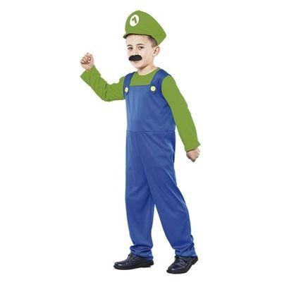 Luigi kostuum kind