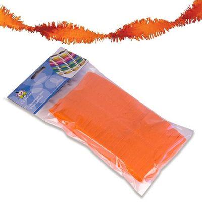 Crepe slinger oranje 6m