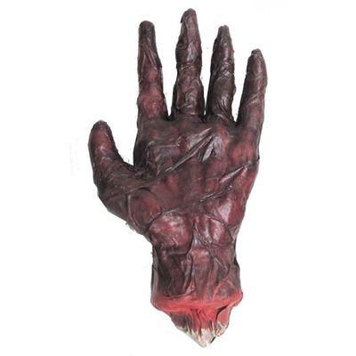 Verbrande hand