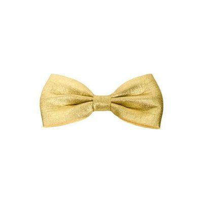 Vlinderdas 13,5 cm goud