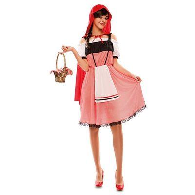 Roodkapje jurk