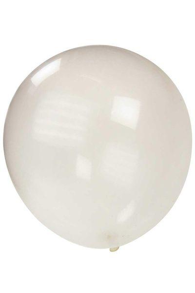 Kwaliteitsballon metallic Transparant 36 inch Ø 90 cm