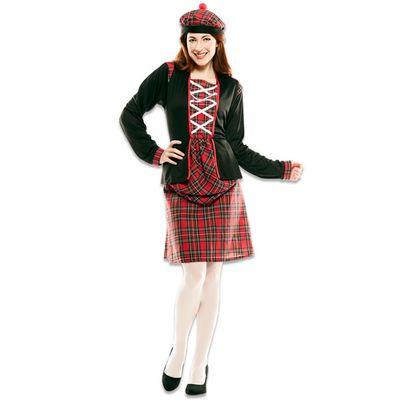 Foto van Schots kostuum dames