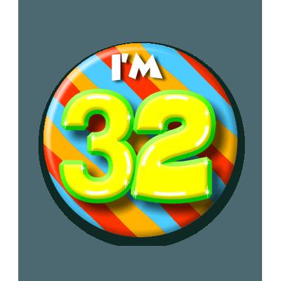 Foto van Button 32 jaar