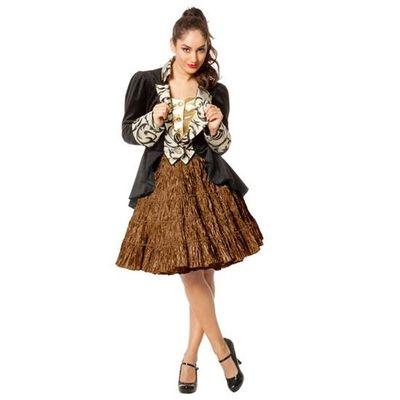 Petticoat rok koper