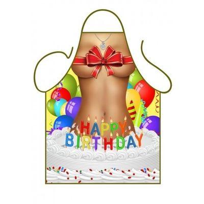Kookschort Happy birthday
