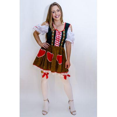 Tiroler jurkje - Hartjes