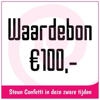 Foto van Waardebon € 100,-