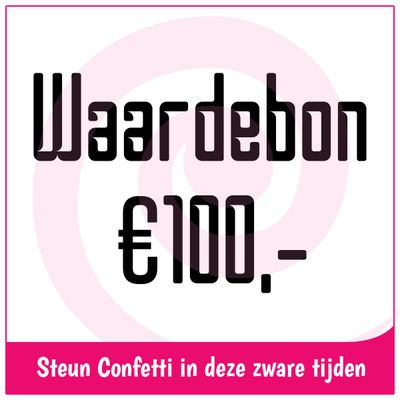 Waardebon € 100,-