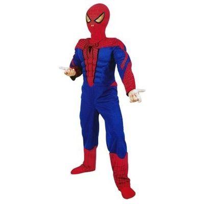 Foto van Spiderman kostuum jongens maat 7-8 jaar