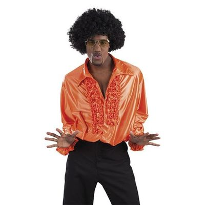 Foto van Disco shirt oranje